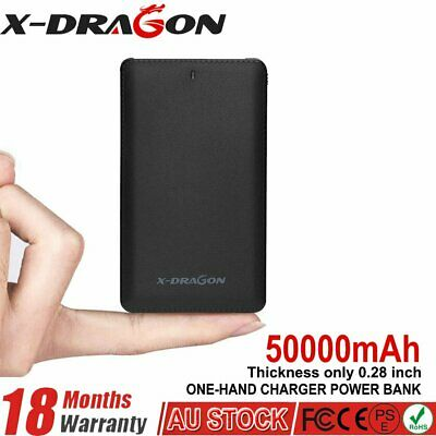 AU19.99 • Buy 50000mAh Portable Charger Power Bank With Lightning Adapter External Battery Kit