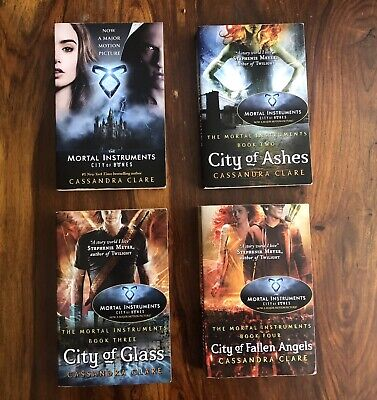 £2.10 • Buy The Mortal Instruments Books: City Of Bones, Ashes, Glass & Fallen Angels