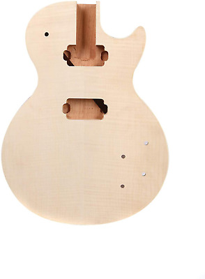 $129.02 • Buy Mahogany Wood Electric Guitar Body With Tiger Maple Top For Les Paul