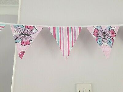 £15 • Buy Pretty Butterfly Bunting 29ft