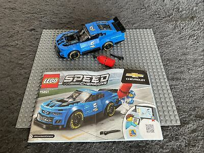 £7.99 • Buy Lego Set 75891, Speed Champions, Chevrolet, No Box Or Minifig