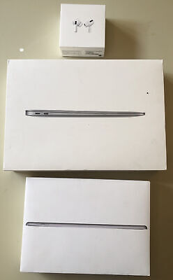 $7.11 • Buy 3 BOXES ONLY Mac Book Air 13 Inch A1932, I Pad 6th, Air Pods Pro BOXES ONLY