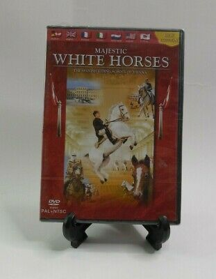 $12.99 • Buy Majestic White Horses The Spanish Riding School Of Vienna 2005 DVD New Edition