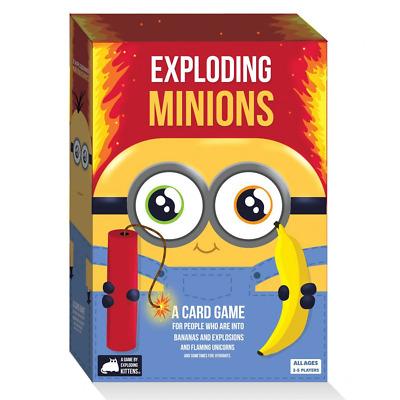 AU42.54 • Buy Exploding Minions By Exploding Kittens