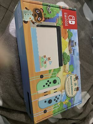 AU435 • Buy Nintendo Switch Animal Crossing: New Horizons Edition Console With Blue And...