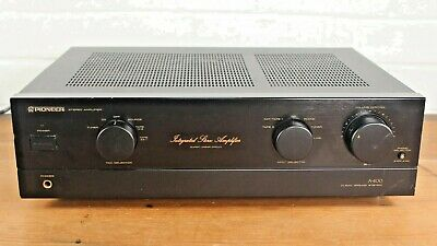 £110 • Buy Pioneer A-400 Integrated Stereo HiFi Amplifier Audiophile Quality Made In Japan