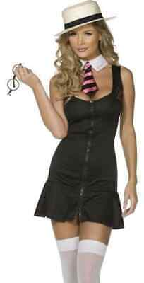 £12.99 • Buy School Girl Fancy Dress Costume Womens College Student Outfit