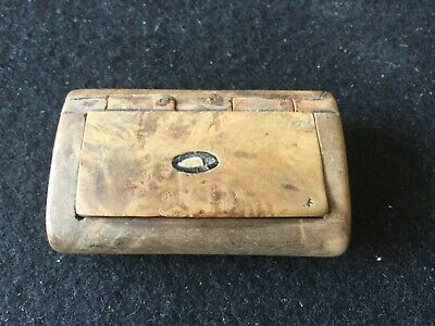 £19.95 • Buy Antique Wooden Snuff Box
