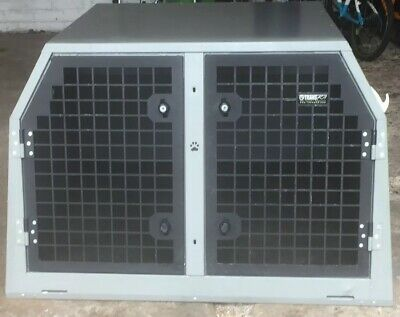 £450 • Buy Trans K9 B18 Used Double Dog Cage For Sale
