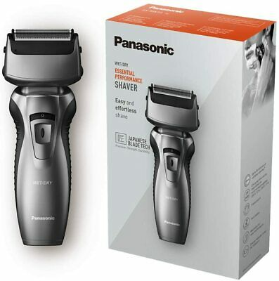 £19.95 • Buy Panasonic Wet & Dry Dual-Blade Rechargeable Shaver Trimmer Japanese Blade ESRW33