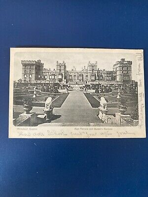 £0.80 • Buy Windsor Castle Posted 1903 East Terrace And Queen's Gardens