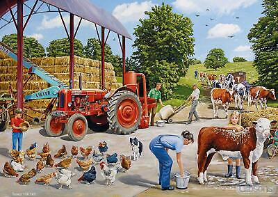 £10.68 • Buy Gibsons A Busy Farmyard Jigsaw Puzzle (500 Pieces) - DAMAGED