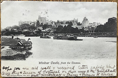 £1.99 • Buy Windsor Castle 1904 From Across The Thames Wrench Series 1077 Vintage Postcard