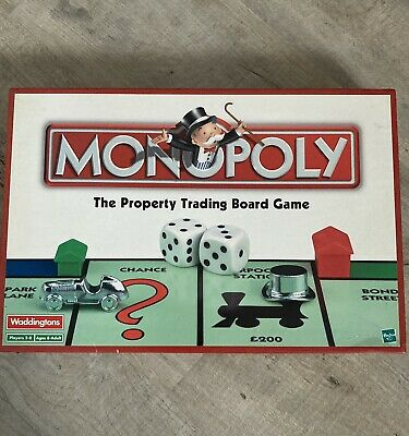 £7 • Buy Monopoly Classic Board Game By Waddingtons Hasbro 2002 Complete Great Condition