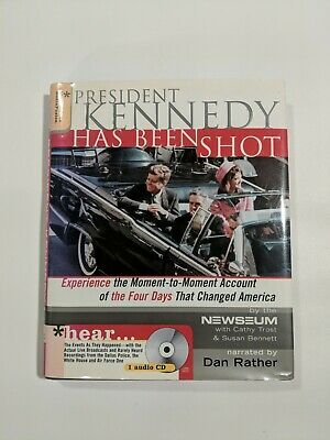 £11.58 • Buy President Kennedy Has Been Shot By Newseum Narrated Dan Rather First Edition