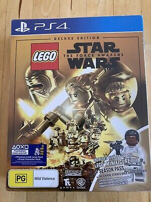AU48 • Buy Sony PS4 Lego Star Wars The Force Awakens Deluxe Edition New & Sealed