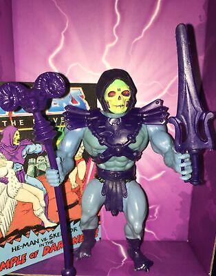 $100 • Buy Skeletor Vintage Masters Of The Universe 100% Complete W Mini Comic
