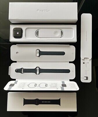 AU549 • Buy Apple Watch Series 6 - 44mm GPS+Cellular - Space Gray/Black Sport Band *NEW*