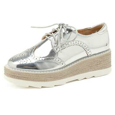 £31.49 • Buy Women Wing Tip Brogue Shoes Lace-up Fashion Breathable Casual Shoes Oxfords New