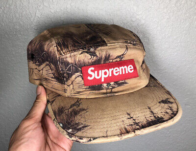 £108.39 • Buy Supreme Vintage Ducks Dogs Camp Cap Snapback Pre-owned Authentic USA Seller