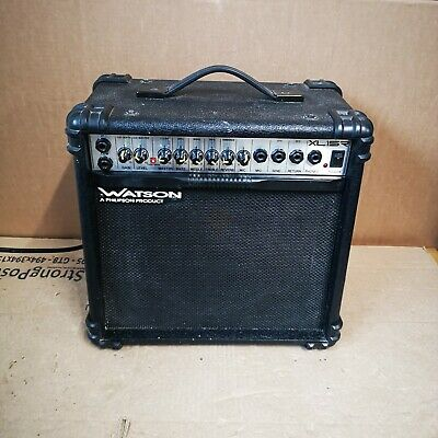 $ CDN58.52 • Buy Watson Amp XL15 - Amplifier For Electric Guitar Use - Black - Philipson