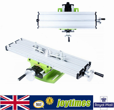 £21.01 • Buy Mini Compound Work Table Cross Bench Press Vise Fixture For Milling Drilling UK