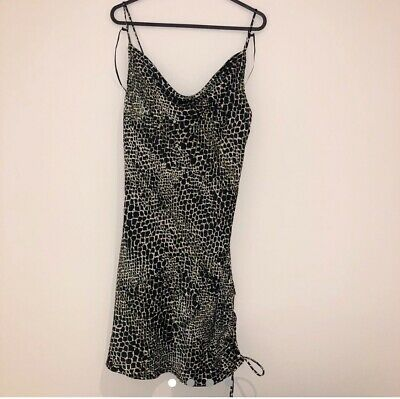£8 • Buy Topshop Animal Print Mini Dress. Size 6. Brand New With Tags.