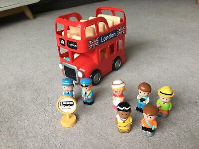 £5.50 • Buy ELC Happyland London Bus With Figures And Bus Stop