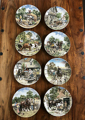 £30 • Buy Excellent Wedgewood  Life On The Farm  8 Plate Collection By John L Chapman