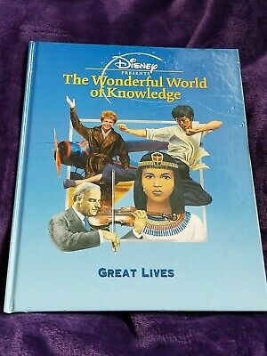 £4 • Buy The Wonderful World Of Knowledge - Great Lives Book