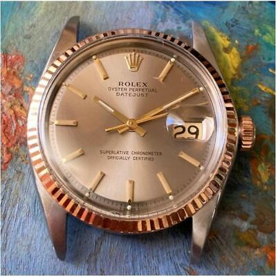 $ CDN851.61 • Buy OLD ROLEX OYSTER PERPETUAL DATEJUST 1601VINTAGE WATCH 100% GENUINE DIAL 36mm