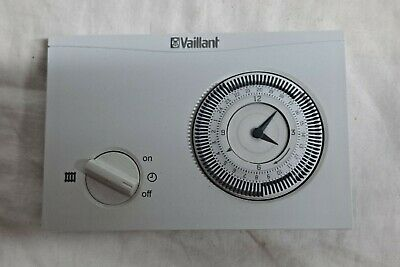 £21.50 • Buy Used Vaillant Time Switch 150 Analogue Timer / Mechanical Time Clock