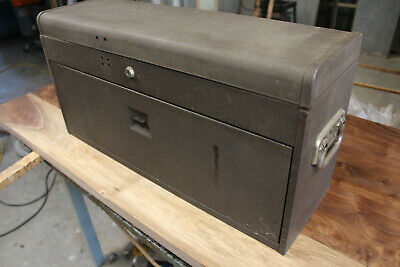 $225 • Buy Vintage Craftsman Kennedy 526 8-Drawer Machinist Tool Maker Box MADE IN USA