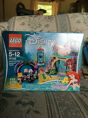 £14.49 • Buy LEGO Disney Ariel And The Magical Spell 2017 (41145) New And Sealed 222 Pcs.