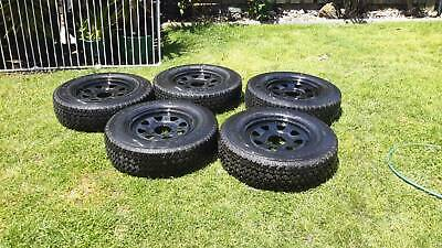 AU522 • Buy 4x4 Wheels And Tyres. Set Of 5. As New