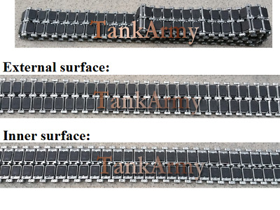 $95.79 • Buy Heng Long 1/16 M1A2 Abrams Metal Tracks With Double Rubber Pads