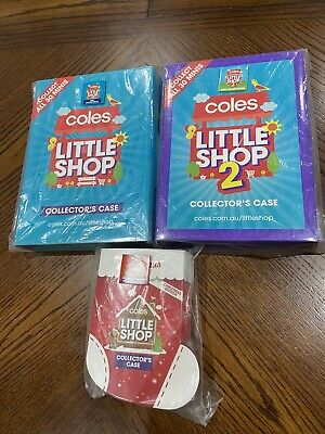 $88.20 • Buy Coles Little Shop Complete Sets 1 &2 & Christmas In Case All In Full Sets RARE