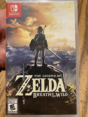 AU53.45 • Buy The Legend Of Zelda: Breath Of The Wild - Nintendo Switch Unopened Never Played