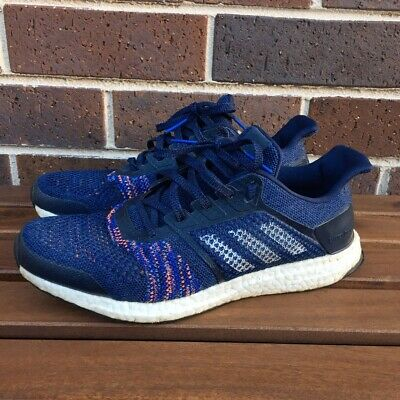 AU40 • Buy Adidas Ultra Boost St Continental Noble Ink White Navy Blue Woven 10 Us Ye Hype
