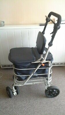 £9.99 • Buy Shopping Trolley With Seat Breaks Used