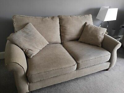 £20 • Buy Next Sofa 2 Seater Settee Natural Light Fabric Beige Neutral