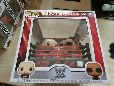 £12.50 • Buy Wwe Stone Cold Steve Austin & The Rock In The Ring Funko 2 Pack