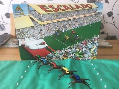 £16 • Buy ESCALADO Chad Valley Horse Racing Game. Used But In Great Condition