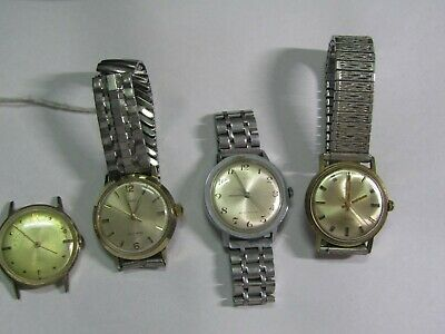 $ CDN18.68 • Buy  Vintage Watch Lot Of 4 Men's Timex Watches For Parts/repair  # 95