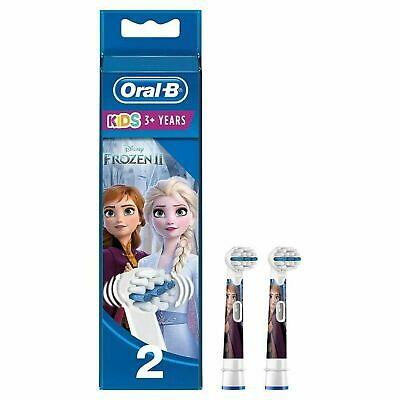 AU29.38 • Buy Oral B Kids Electric Rechargeable Toothbrush Frozen With 2 Replacement Heads