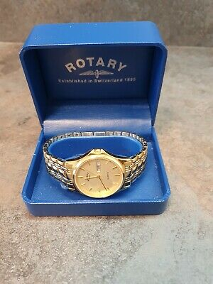 £22 • Buy Vintage Rotary Mens Watch With Original Box And Extra Links