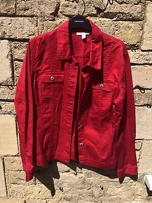£1 • Buy Jm Collection Button Up Shirt Red