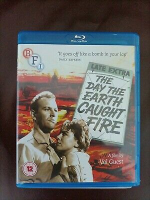£4 • Buy The Day The Earth Caught Fire (blu-ray & Dvd)