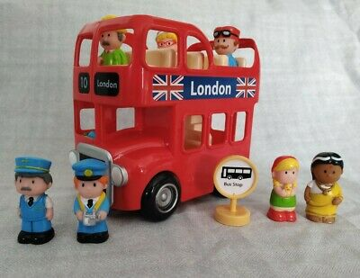 £6 • Buy ELC Happyland LONDON BUS PLAYSET WITH BUS STOP & EXTRA FIGURES WORKING SOUND