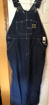 $39.99 • Buy New Berne Apparel Mens Denim Coveralls Overalls Suit Bib 42x 28 Nwt With Tags